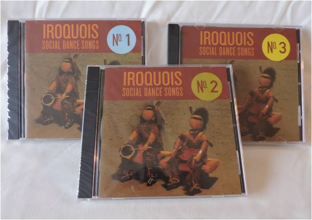 Iroquois Social Songs CD's